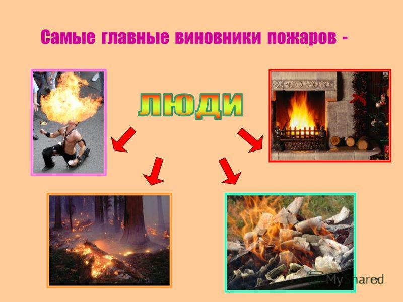 Самые главные виновники пожаров - 7