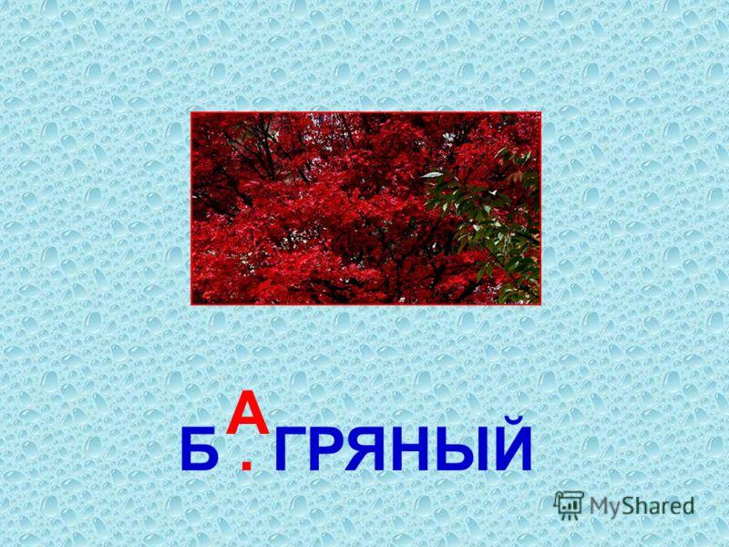 Б. ГРЯНЫЙ А