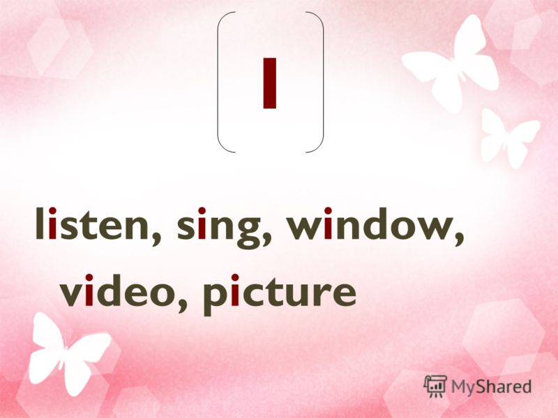 I listen, sing, window, video, picture