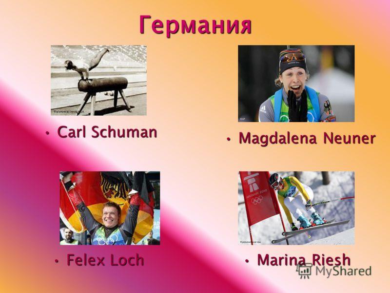 Германия Carl SchumanCarl Schuman Felex LochFelex Loch Marina RieshMarina Riesh Magdalena NeunerMagdalena Neuner
