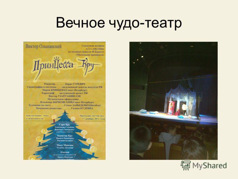 Вечное чудо - театр