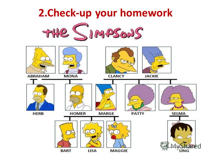 2.Check-up your homework