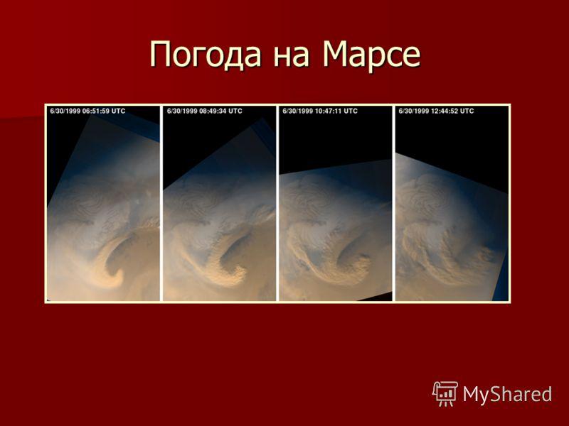 Погода на Марсе