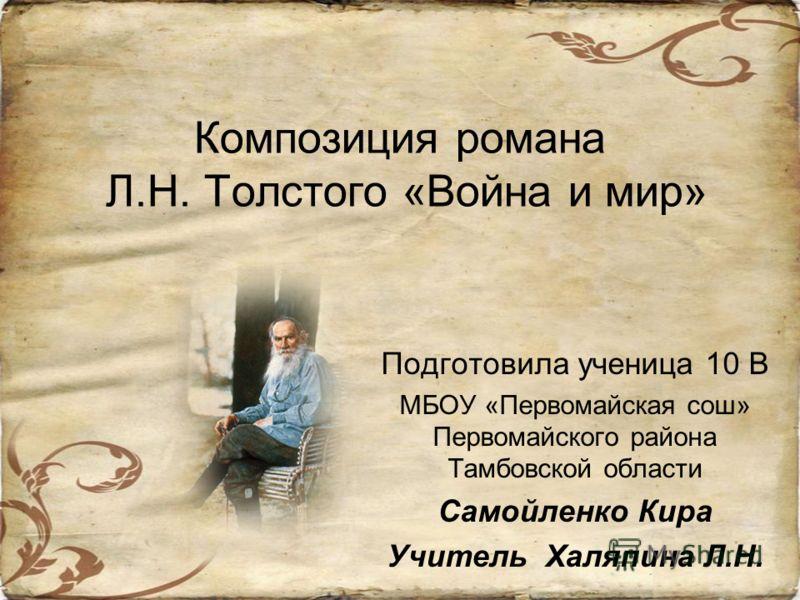 Презентация на тему война и мир русский язык