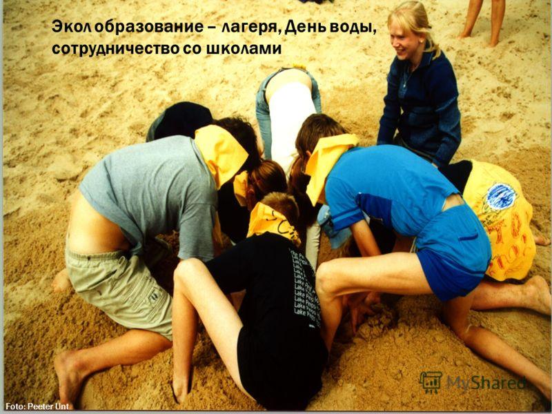 Экол образование – лагеря, День воды, сотрудничество со школами Foto: Peeter Unt