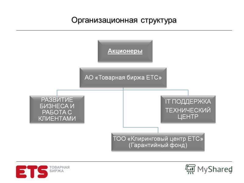 3 Организационная структура Организационная структура