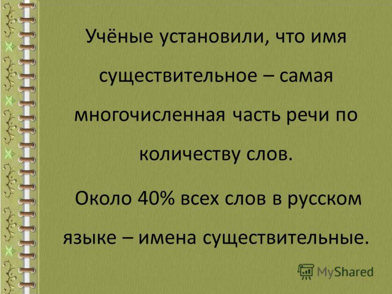 «Существительное – дирижёр грамматического оркестра» В. Ветвицкий