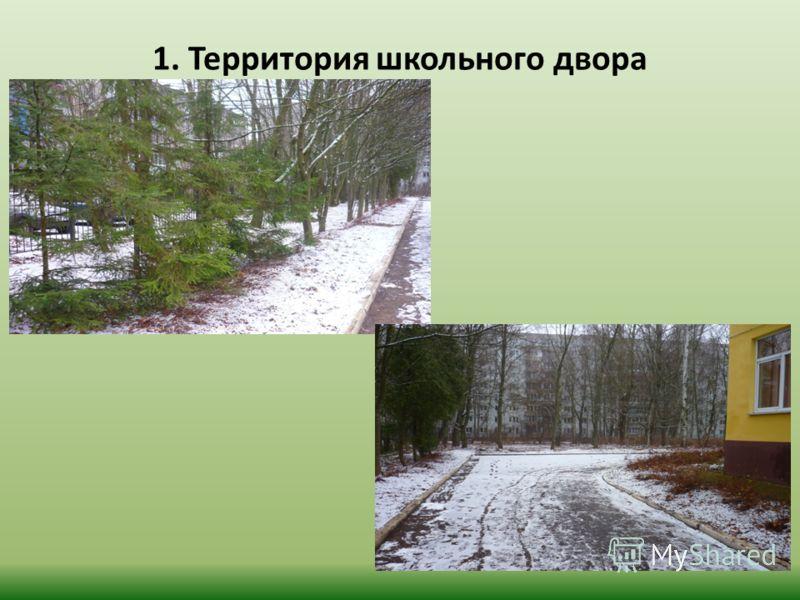 1. Территория школьного двора