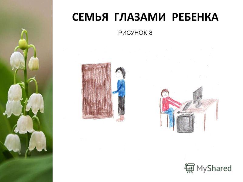СЕМЬЯ ГЛАЗАМИ РЕБЕНКА РИСУНОК 8