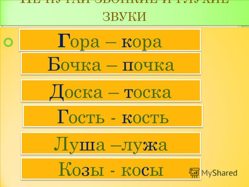 П АРНЫЕ СОГЛАСНЫЕ ЗВУКИ Звонкие и глухие согласные образуют пары. Б, В, Г, Д, Ж, З Звонкие и глухие согласные образуют пары. Б, В, Г, Д, Ж, З П П Ф Ф К К Т Т Ш Ш С С