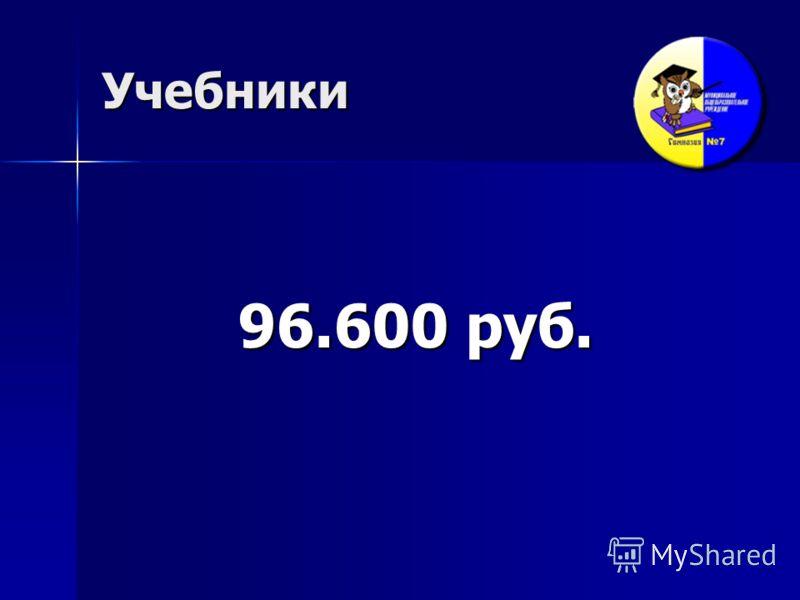 Учебники 96.600 руб.