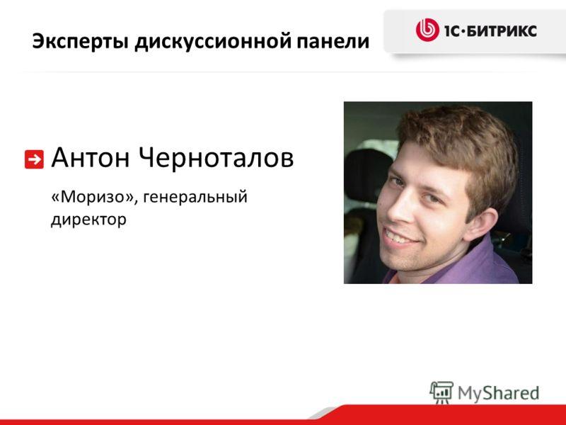 Эксперты дискуссионной панели Антон Черноталов «Моризо», генеральный директор