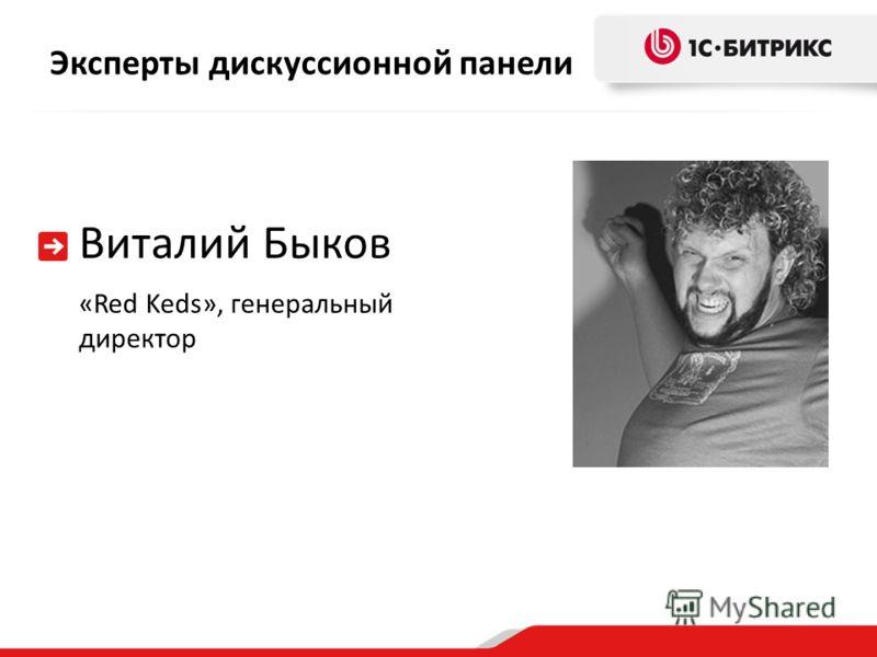 Эксперты дискуссионной панели Виталий Быков «Red Keds», генеральный директор