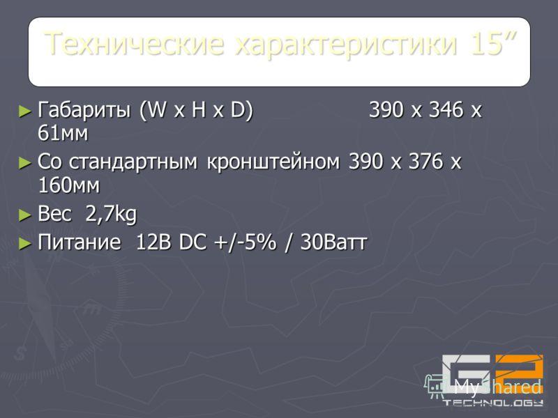 Видео стандарты NTSC/PAL Видео стандарты NTSC/PAL Композитный видео сигнал 1.0В, 75 Ом Композитный видео сигнал 1.0В, 75 Ом Разъем композитного входа BNC Разъем композитного входа BNC S-видео сигнал 0.7В, 0.3В, 75 Ом S-видео сигнал 0.7В, 0.3В, 75 Ом
