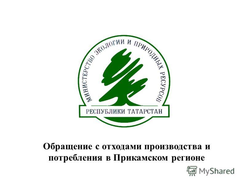 Обращение с отходами производства и потребления в Прикамском регионе