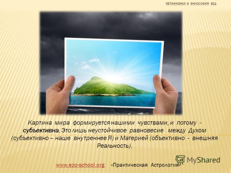 www.ezo-school.orgwww.ezo-school.org «Практическая Астрология» В человеке соединяются два противоположных начала – Материя и Дух Природа Духа - это природа Света, природа энергии и информации, это то, что мы называем «тонким телом» Природа Материи –