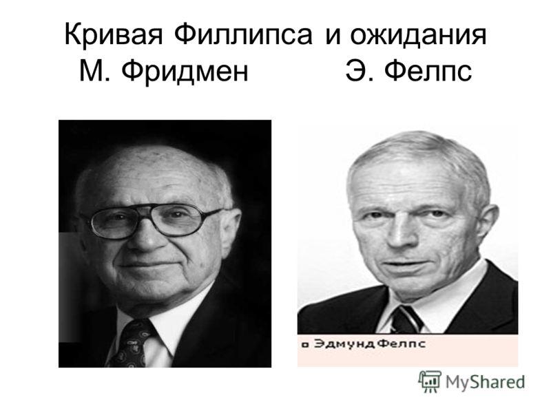 Кривая Филлипса и ожидания М. Фридмен Э. Фелпс