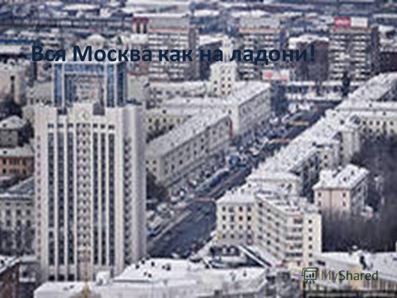 Вся Москва как на ладони!