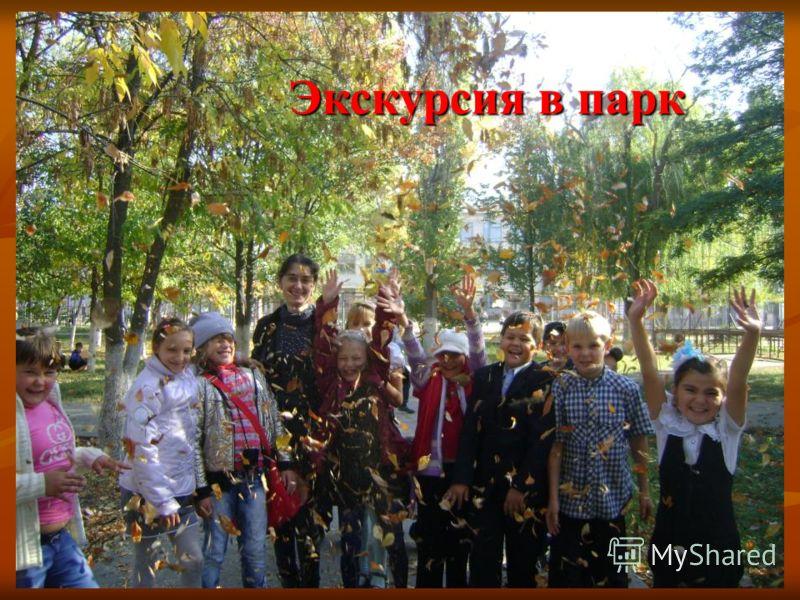 Экскурсия в парк