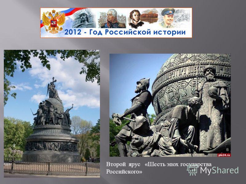 Второй ярус « Шесть эпох государства Российского »