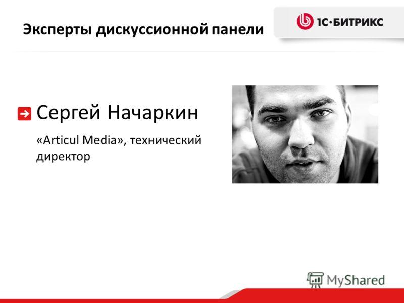 Эксперты дискуссионной панели Сергей Начаркин «Articul Media», технический директор