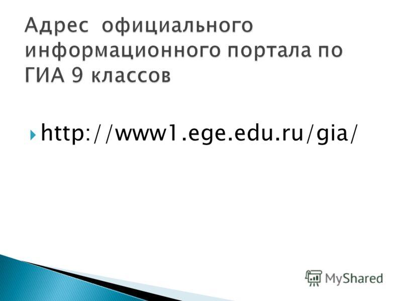 http://www1.ege.edu.ru/gia/
