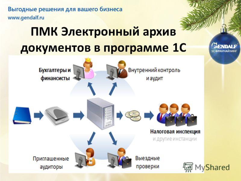 ПМК Электронный архив документов в программе 1С