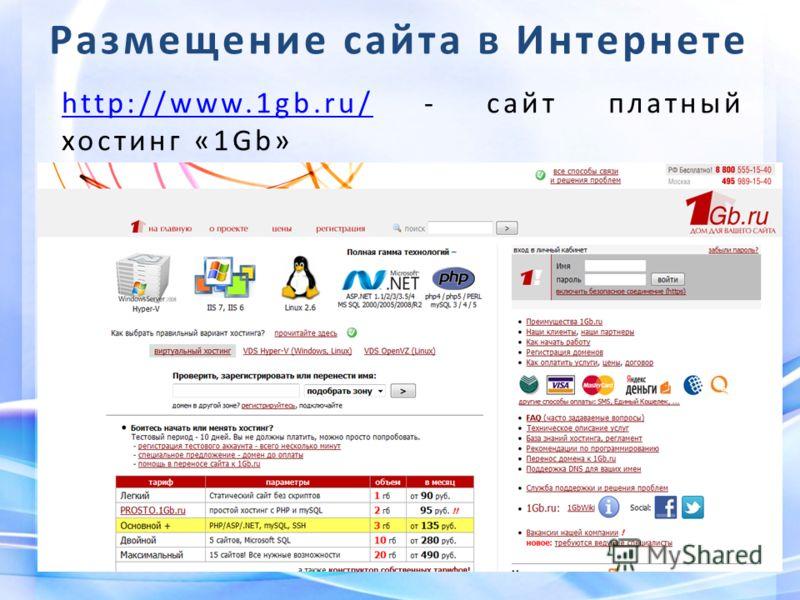 Хостинг сайтов 1gb партнёрские программы по хостингу для веб-мастеров