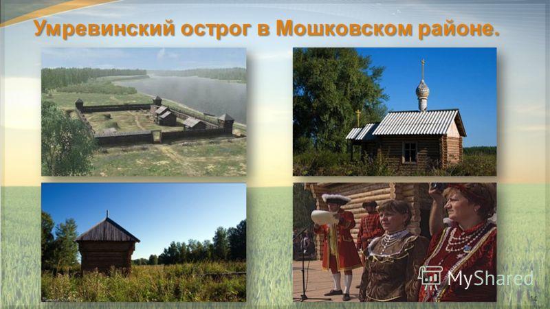 Умревинский острог в Мошковском районе. 14