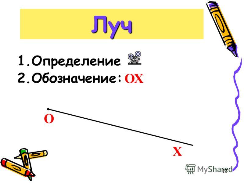 12 Отрезок А В n m C D S L F 3.Точки, принадлежащие отр. АВ 4.Точки, не принадлежащие отр. АВ 5.Прямые, пересекающие отр. АВ 6.Прямые, не пересекающие отр. АВ