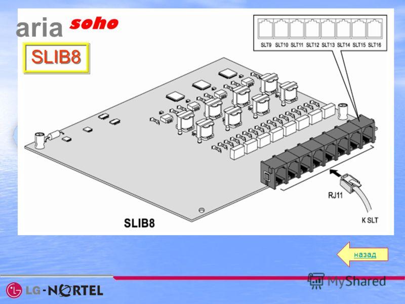 назад aria soho SLIB8