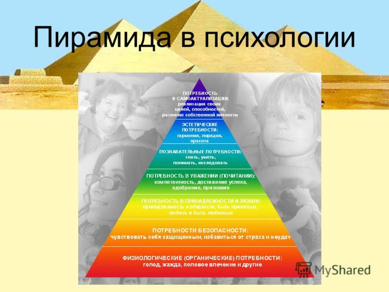 Пирамида в психологии