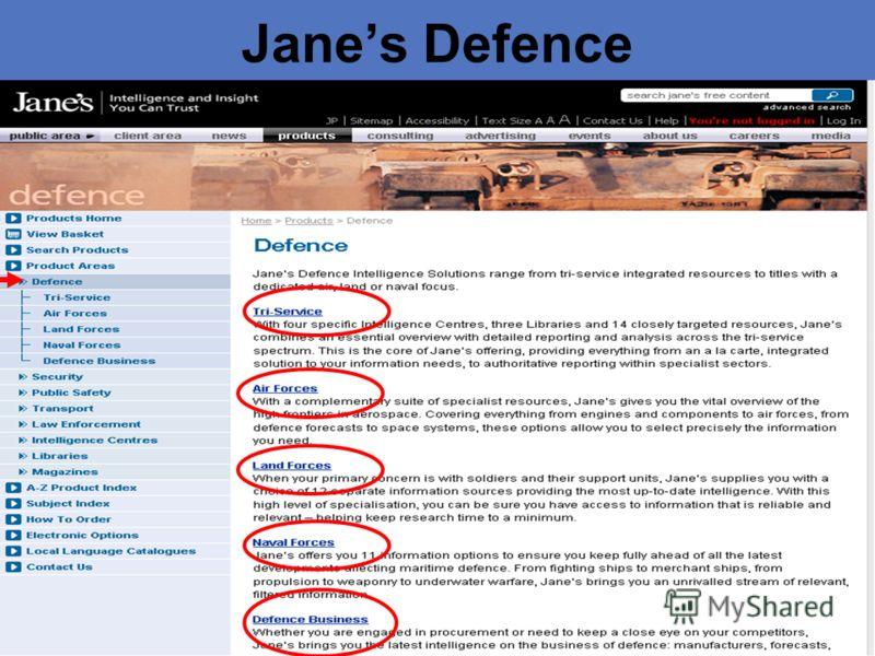 Janes Defence