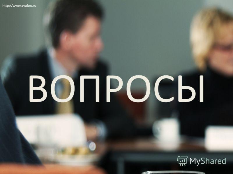 ВОПРОСЫ http://www.avalon.ru