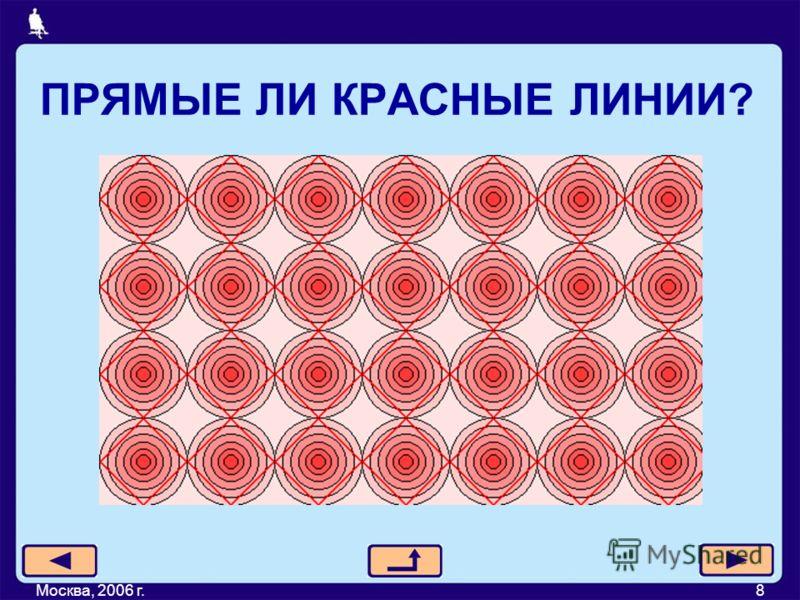 ПРЯМЫЕ ЛИ КРАСНЫЕ ЛИНИИ? Москва, 2006 г.8