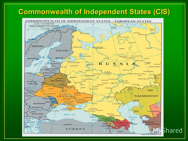 Commonwealth of Independent States (CIS)