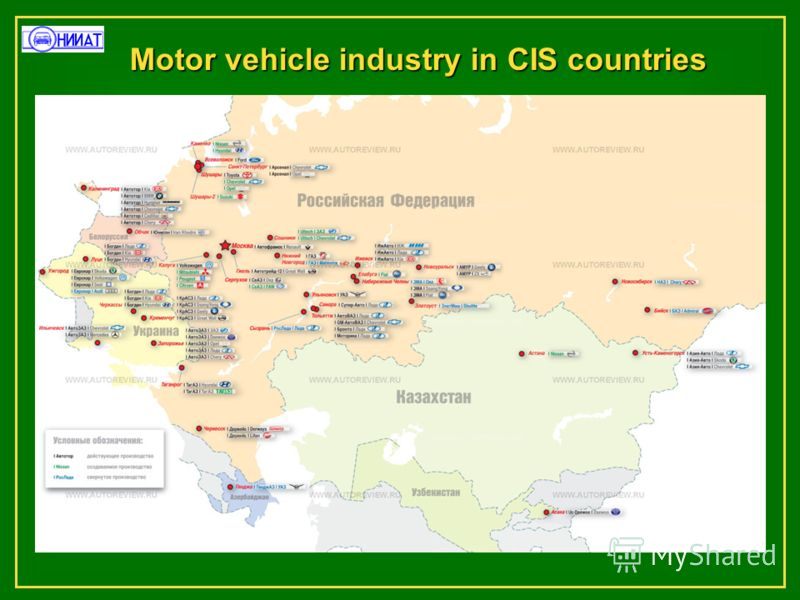 Motor vehicle industry in CIS countries
