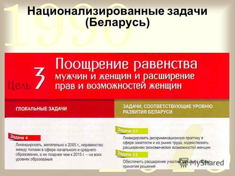2015 1990 29 Национализированные задачи (Беларусь)