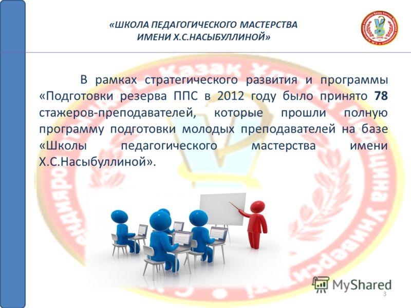 2 В 2011-2012 учебном году на базе школы были организованы и проведены следующие семинары: «ШКОЛА ПЕДАГОГИЧЕСКОГО МАСТЕРСТВА ИМЕНИ Х.С.НАСЫБУЛЛИНОЙ»