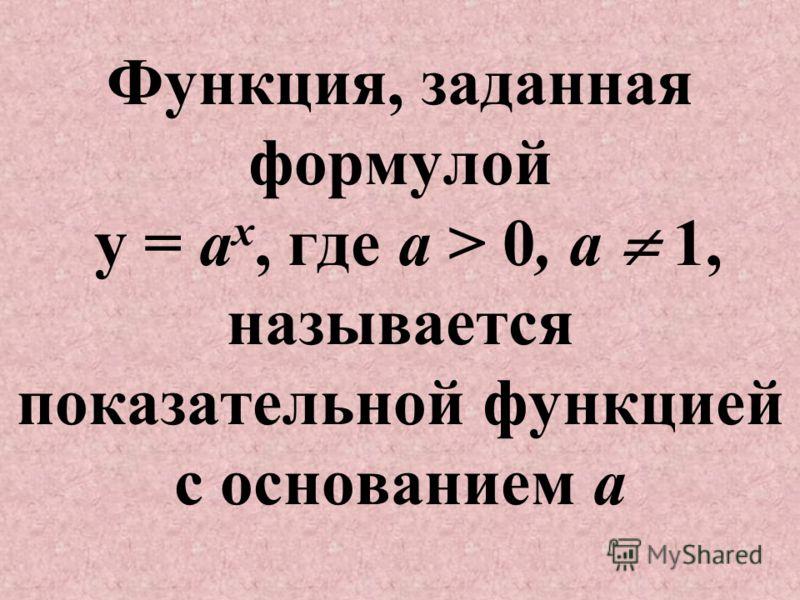 Построить график функции у = а х, если а = 3, (-2), 1,