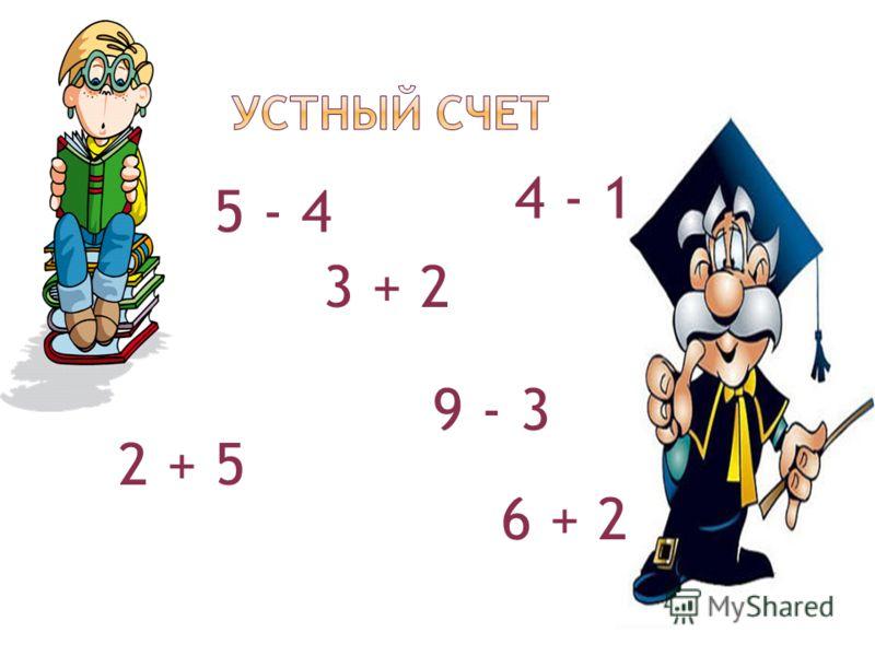 5 - 4 4 - 1 9 - 3 3 + 2 2 + 5 6 + 2