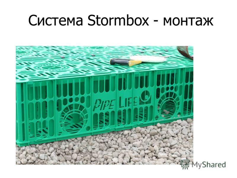 Система Stormbox - монтаж