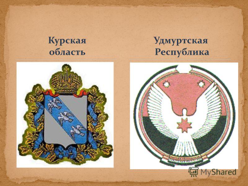 Курская область Удмуртская Республика