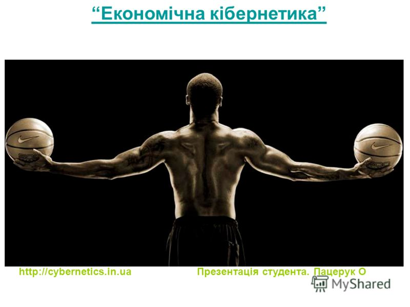 ПОТРІБНО ВСЕ ЗВАЖИТИ ! Економічна кібернетика http://cybernetics.in.ua Презентація студента. Пацерук О