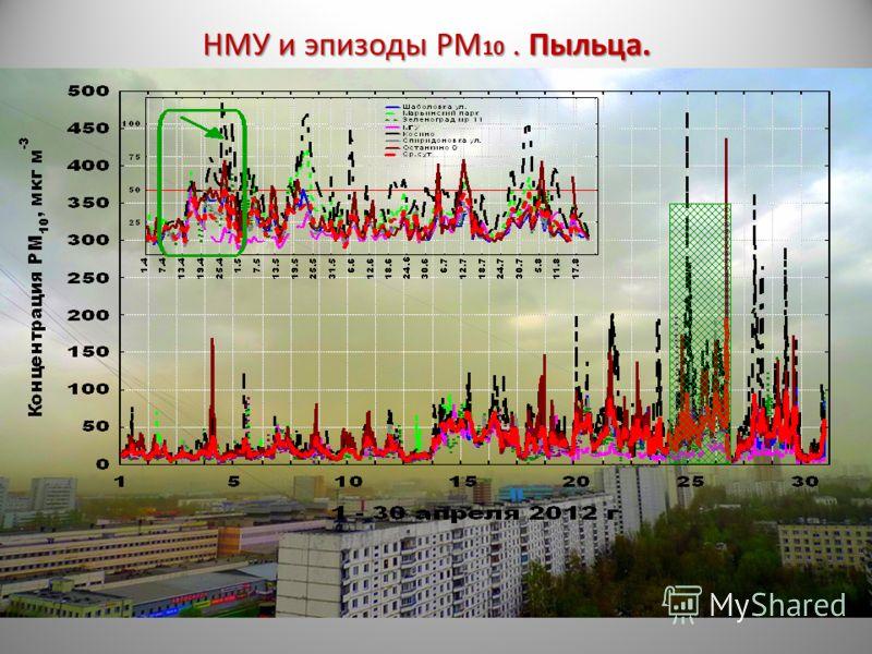 НМУ и эпизоды РМ 10. Пыльца.
