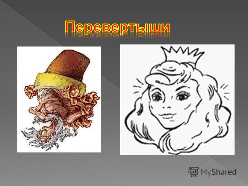 Картины, которые при переворачивании «превращаются» в другие изображения