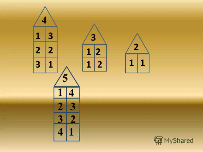 4 3 2 1 3 2 1 2 1 1 2 3 1 2 1 1 4 23 32 41 5