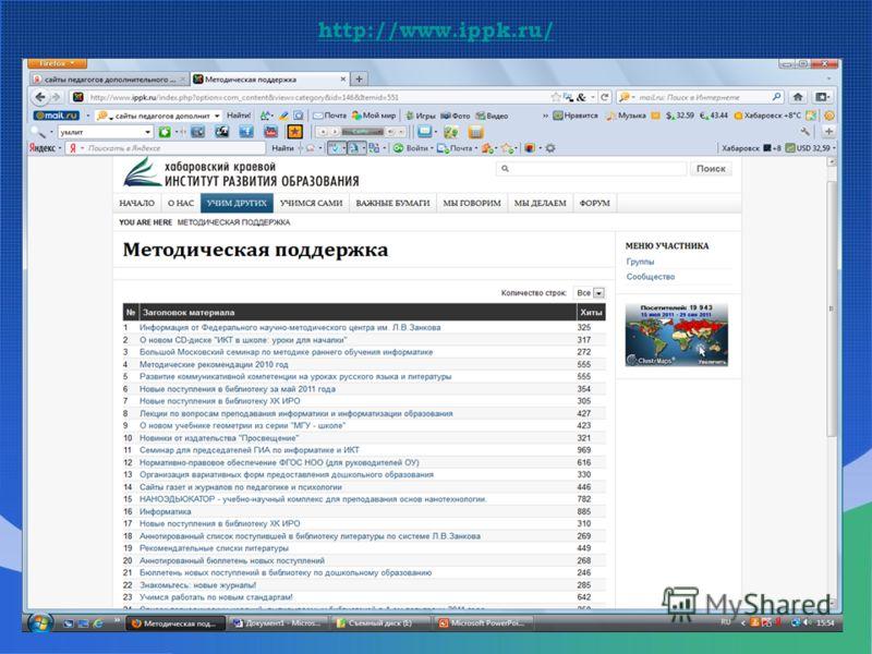http://www.ippk.ru/