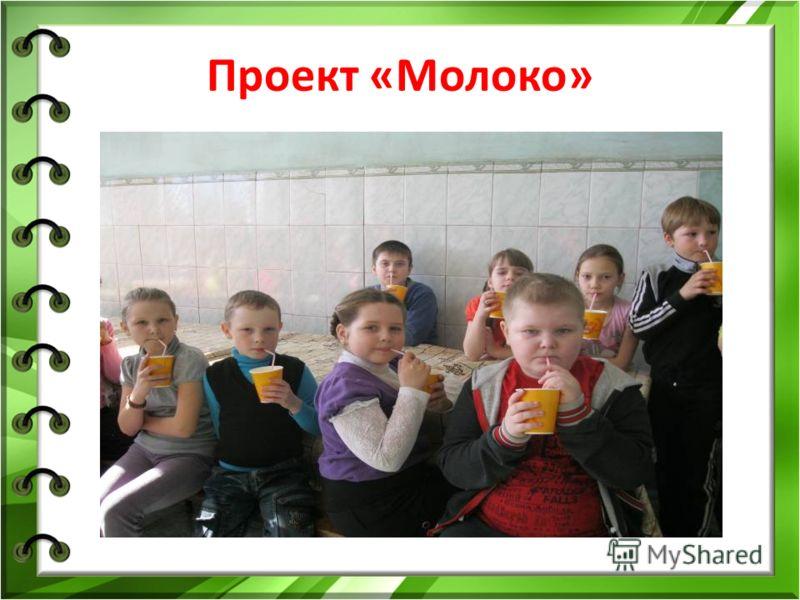 Проект «Молоко»