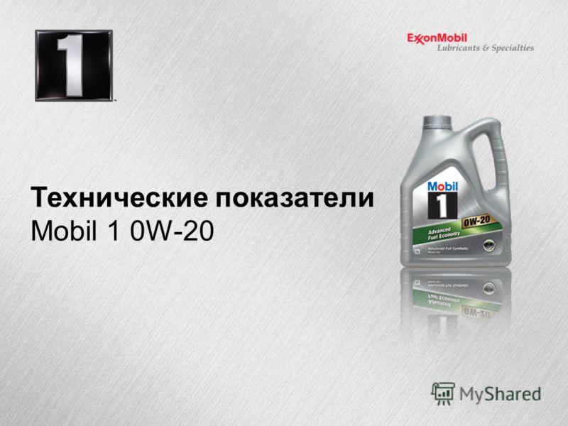 Технические показатели Mobil 1 0W-20